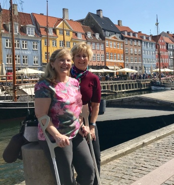 Copenhagen, Denmark.....lots of walking on cobblestone