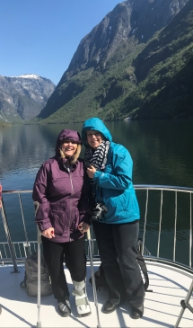 Yes, boats too...touring fjords in Norway